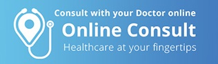 Consult with your Doctor online.  Online Consults.  Healthcare at your fingertips