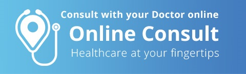 Consult with your doctor online. Online Consult. Healthcare at your fingertips